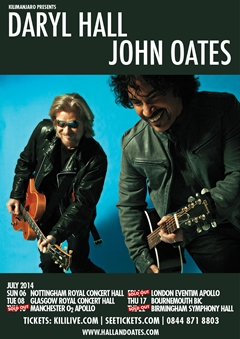 HALL and OATES - Royal Concert Hall Nottingham