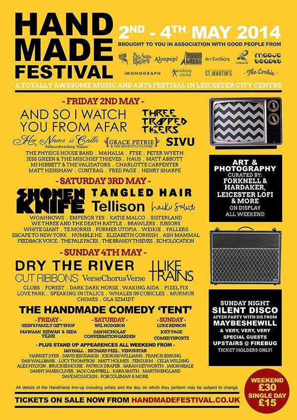 HANDMADE FESTIVAL - Leicester
