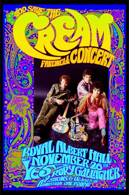 My Classic Rock Page: <b>CREAM</b>: Rock music's power trio