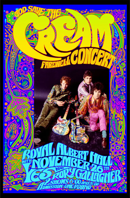 My Classic Rock Page: <b>CREAM</b>: Rock music's power trio