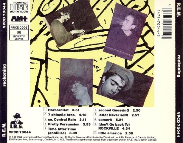 Musicotherapia: R.E.M. - Reckoning (1984)