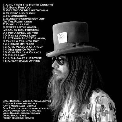Image result for leon russell live at the fillmore east 1970