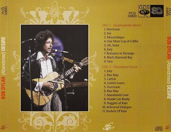 "Image result for BOB DYLAN - "" Abandoned Desire "" Desire Sessions,"