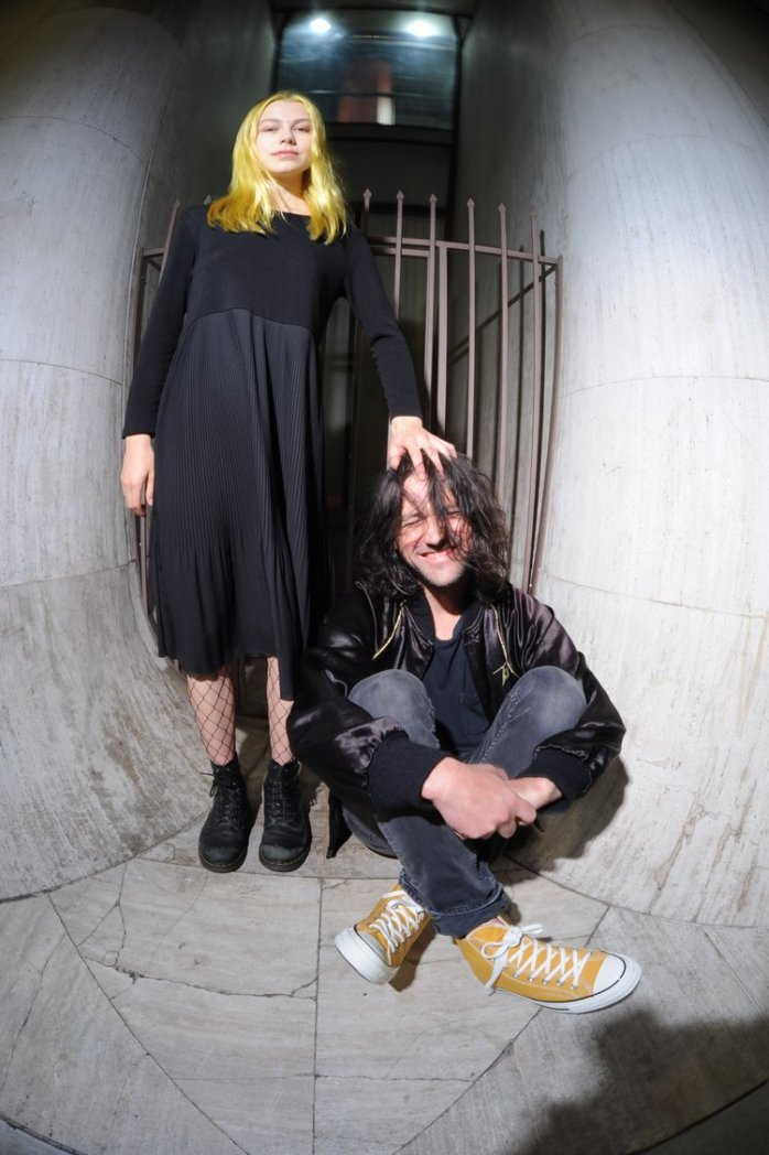 PHOEBE BRIDGERS  &  CONOR OBERST  - PHOTO BY NIK FREITAS