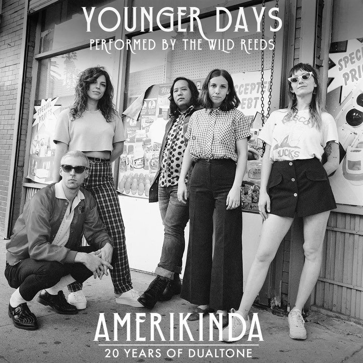 """Two new tracks from our 20th anniversary collaborative album, Amerikinda, dropped today! Listen to @angiemcmahon's smoldering rendition of @ohpepmusic's """"Tea, Milk & Honey"""" and @thewildreeds' harmony-laden take on @mtjoyband's """"Younger Days"""".  Listen to both and pre-order the limited-edition vinyl at the link in our bio."""